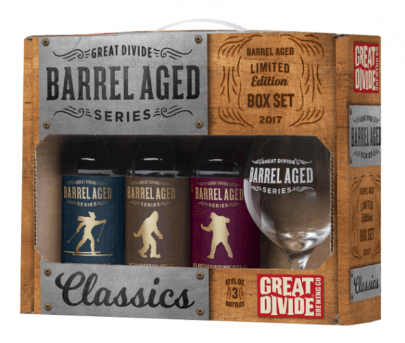 Great Divide Barrel Aged Classics BeerPulse ii