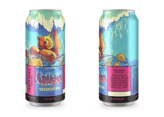 Iron Hill Crusher Session IPA cans BeerPulse