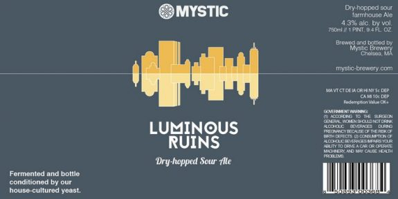 Mystic Luminous Ruins label BeerPulse 2