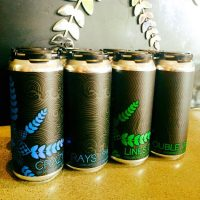 Anchorage Brewing cans Crazy Ray's Lines Cryo