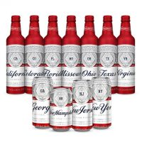 Budweiser State Bottles BeerPulse