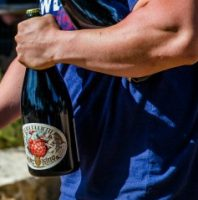 Jester King Atrial Rubicite magnum photo credit to brewery