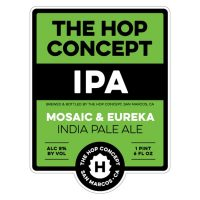 The Hop Concept Mosaic Eureka label BeerPulse