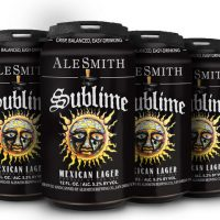 AleSmith Sublime Mexican Lager cans BeerPulse
