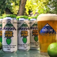Eddyline Citra Verde cans BeerPulse