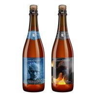 Ommegang Game of Thrones Winter Is Here Fire and Blood 2 Pack Box BeerPulse