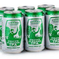 Three Creeks Crowd Pleaser IPA 6-pack cans BeerPulse