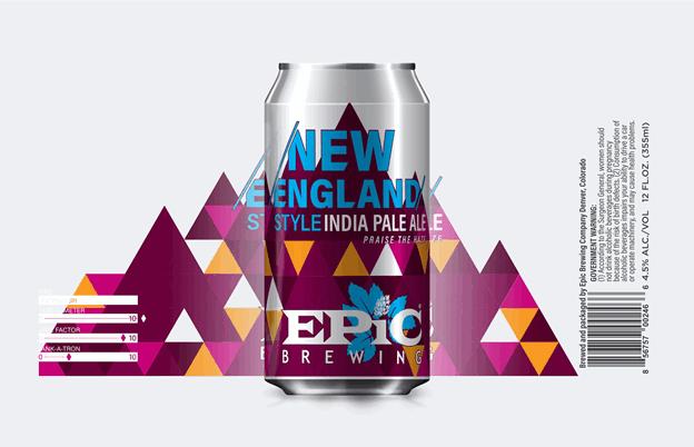 epic new england style ipa label beerpulse