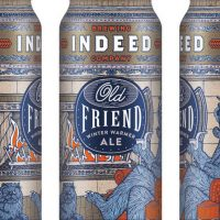 Indeed Old Friend Winter Warmer cans BeerPulse
