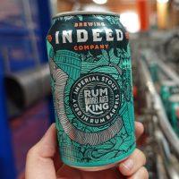 Indeed Rum King Barrel Aged BeerPulse