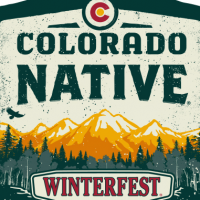 Colorado Native Winterfest BTL body label