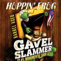 Hoppin' Frog BA Gavel Slammer label BeerPulse