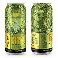 Iron HIll Citra IPA cans BeerPulse