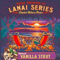 Kona Lanai Imperial Vanilla Stout 22oz BeerPulse