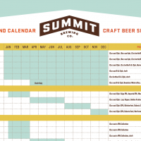 Summit Beer Calendar 2018 BeerPulse