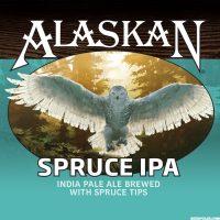 Alaskan Spruce IPA label BeerPulse