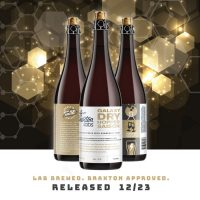 Braxton Labs Galaxy Dry Hopped Saison bottle conditioned with Champagne Yeast BeerPulse
