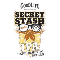 GoodLife Secret Stash 005 Experimental Series IPA 005 label logo BeerPulse