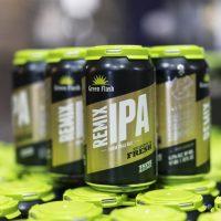 Green Flash Remix IPA cans BeerPulse