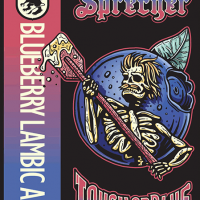 Sprecher Touch of Blue Blueberry Lambic label BeerPulse