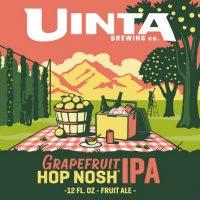 Uinta Grapefruit Hop Nosh IPA label BeerPulse