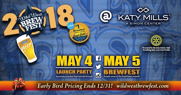 Wild west brew fest returns to katy texas for its for Texas craft brewers festival