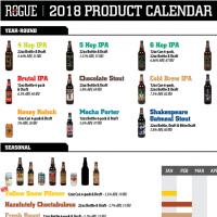2018 Rogue Beer Calendar update BeerPulse