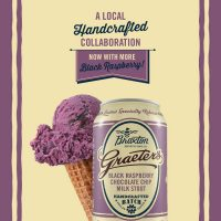 Braxton Graeter's Black Raspberry Chocolate Chip Milk Stout can BeerPulse