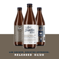 Braxton Labs Bourbon Barrel-Aged Oatmeal Stout BeerPulse