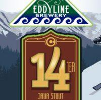Eddyline 14'er Java Stout label BeerPulse
