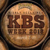 Founders KBS Week 2018 BeerPulse Kentucky Breakfast Stout