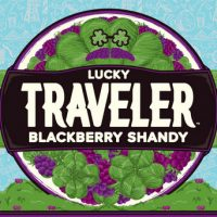 Lucky Traveler Blackberry Shandy label BeerPulse