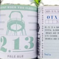 Oasis Texas 2.13 Pale Ale cans BeerPulse