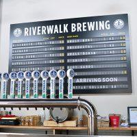 Riverwalk Brewing Taproom BeerPulse web