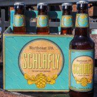 Schlafly Northeast IPA bottles BeerPulse