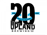 Upland Brewing 20th Anniversary logo BeerPulse