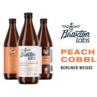 Braxton Labs Peach Cobbler bottles BeerPulse