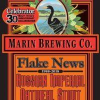 Marin Flake News label BeerPulse