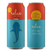 Offshoot Beer Relax IPA cans BeerPulse