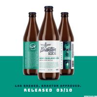 Braxton Labs New Zealand IPA bottles BeerPulse