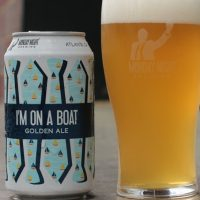 Monday Night I'm on a Boat can glass BeerPulse