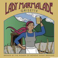 Monday Night Lady Marmalade label BeerPulse